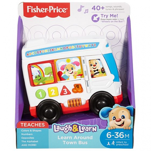 Fisher Price Laugh n' Learn Greek Bus
