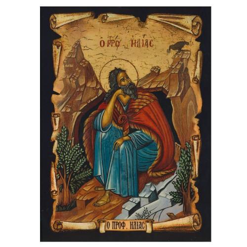 Prophet Elias Traditional Orthodox Icon
