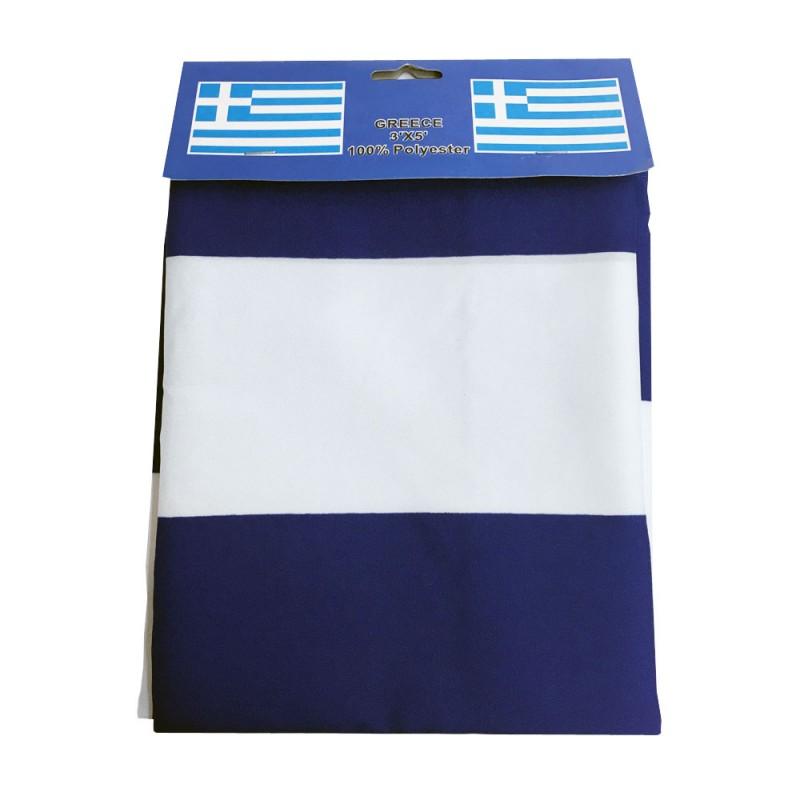 Greek Flag 3' X 5' ft