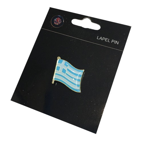 Greek Flag Pin