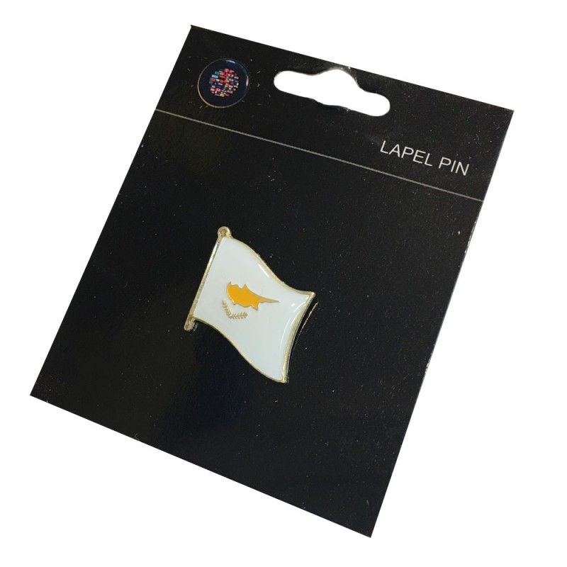Cypriot Flag Pin